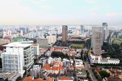 Singapore skyline. Royalty Free Stock Photo