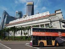 Singapore Skyline Royalty Free Stock Images