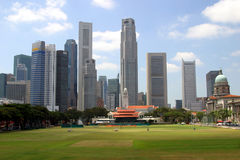 Singapore skyline. Downtown in day time Royalty Free Stock Photo