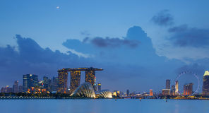 Singapore Skyline Royalty Free Stock Photography