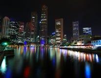 singapore skyline Στοκ φωτογραφία με δικαίωμα ελεύθερης χρήσης