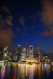 Singapore skyline Stock Image
