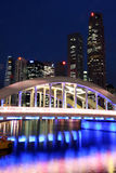 Singapore Skyline. Along the Singapore river Stock Photography