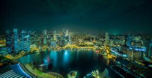 Singapore skyline background Royalty Free Stock Photography
