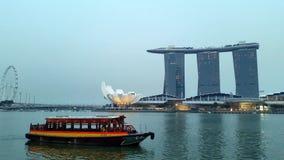 Singapore Skyline City Stock Images