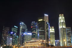 Singapore Skyline day Royalty Free Stock Photography