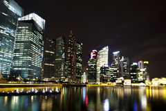 Singapore Skyline, financial centre Royalty Free Stock Image