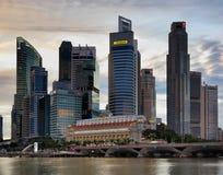 Singapore Skyline HDR Stock Photos