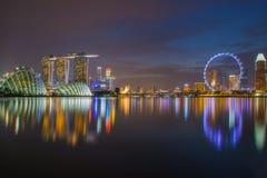 Singapore Skyline. Stock Photography