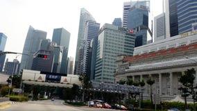 Singapore Skyline Royalty Free Stock Photo