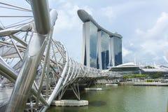 Singapore Skyline Royalty Free Stock Photos