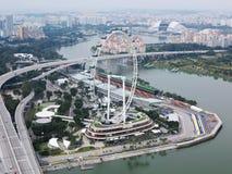 Singapore Skyline Stock Photography