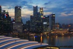 Singapore Skyline Stock Photo
