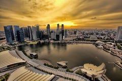 Singapore Skyline royalty free stock image