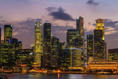 Singapore Skyscraper Royalty Free Stock Images