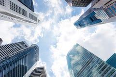 Singapore skyscraper Royalty Free Stock Image