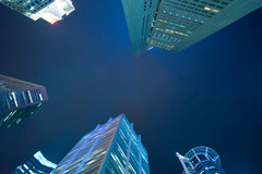 Singapore skyscrapers Royalty Free Stock Photography