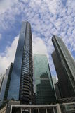 singapore skyskrapor Royaltyfri Bild