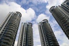 singapore skyskrapor Royaltyfri Foto