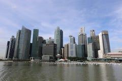 singapore skyskrapor Royaltyfri Fotografi