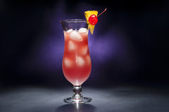 Singapore Sling Royalty Free Stock Photography