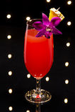 Singapore Sling cocktail Stock Photos