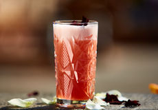 The Singapore Sling cocktail Royalty Free Stock Images