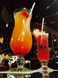 Singapore Slings. Summer slings. Energetic, passion, and enthusiasm Stock Images