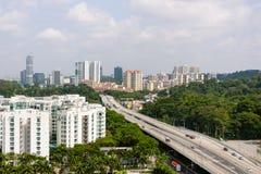 Singapore som sovar området Royaltyfri Fotografi