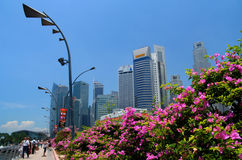 Singapore in spring Royalty Free Stock Photos
