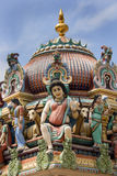 Singapore - Sri Mariamman Hindu Temple Stock Photography