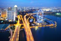 Singapore stad arkivbild