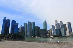 Singapore stad Fotografering för Bildbyråer
