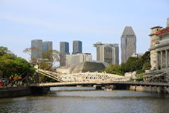 Singapore stad Arkivfoton