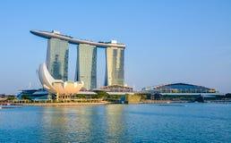 Singapore stadshorisont Royaltyfria Foton