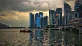 Singapore strand arkivfoton