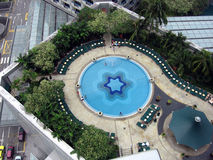 Singapore. Strand op dak Royalty-vrije Stock Afbeelding