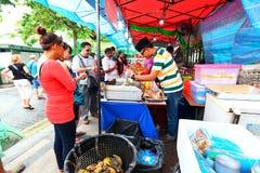 Singapore : Street food Royalty Free Stock Photos