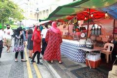 Singapore : Street food Royalty Free Stock Image
