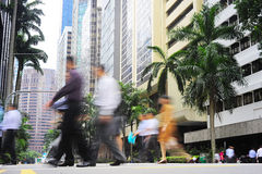 Singapore street Royalty Free Stock Photos