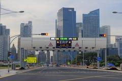 Singapore streets Royalty Free Stock Image