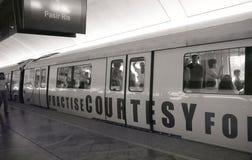 Singapore subway Stock Images