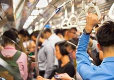 Singapore subway train Stock Photography