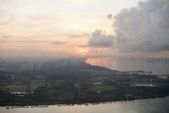 Singapore Sunrise Royalty Free Stock Image