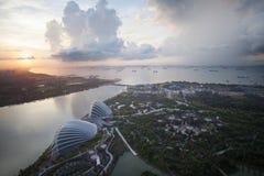 Singapore Sunrise Royalty Free Stock Photography