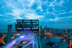 Singapore Sunset Royalty Free Stock Images
