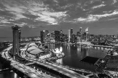 Singapore Sunset Royalty Free Stock Image