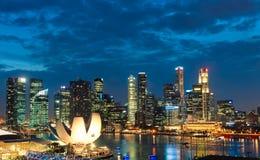 Singapore Sunset Royalty Free Stock Photography