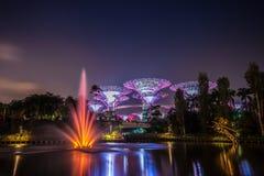 Singapore supertree Stock Photos