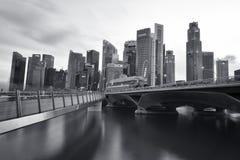 Singapore Syline Fotografia Stock Libera da Diritti